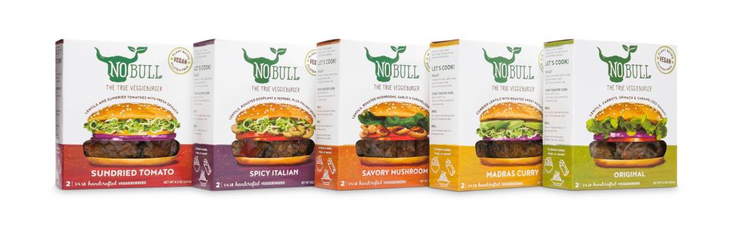 NoBull Burger Product Line horizontal