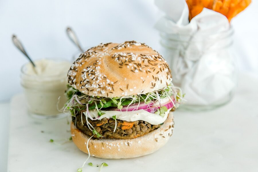 NoBull Veggie Burger - The Classic - Recipe